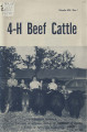 4-H beef cattle