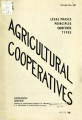 Agricultural cooperatives: legal phases, principles, objectives, and types