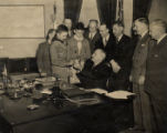 Brooks Hays with a group of Boy Scouts in President Truman's office