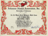 University of Arkansas Alumni Association Life Member Club
