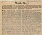 Brooks Hays