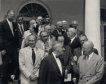 Brooks Hays with President Eisenhower and other members of the Kestnbaum Commission