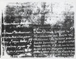 Spanish Document from 1789