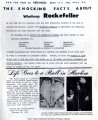 Rockefeller Scandal Sheet