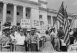 Anti-Integration Race Rally at Arkansas State Capitol