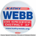 Kathy Webb Campaign Button
