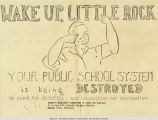 """Wake Up, Little Rock"" Flyer"