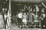 Japanese Internees Pledging Allegiance