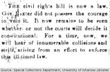 1873 Civil Rights Bill is Now Law