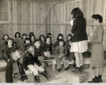 Rohwer Relocation Center Grammar School, Student Acting as Teacher