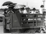 Japanese American Internees Leaving Jerome Relocation Camp