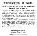 African-American Workers Threatened