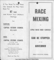 "Capital Citizens Council Opposes ""Race Mixing"""