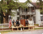 Sarah N. Ridge House Dedication