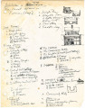 Arkansas Vernacular Architecture Manuscript Vernacular Building Type List and Sketches