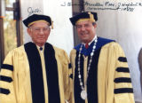 Sen. J.William Fulbright at Johns Hopkins University Commencement