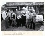 George Fisher with Famous Arkansas Politicians in Front of the Old Guard Rest Home