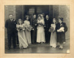 Wedding of Rosemary Snook and George Fisher