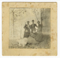 Five women and a dog, La Grange, Arkansas (photograph)