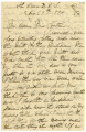 Tillie Graydon Moore letter, written from St. Croix, D.W.I. (Danish West Indies), to Della Hottel,...