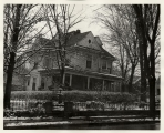House on College Avenue [no longer there]