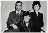 J. William Fulbright, first wife, Betty, and Roberta Fulbright