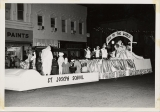 Christmas Parade Float, St. Joseph School