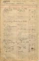Sample Page of Register from Van Winkle Hotel, Fayetteville, Ark.
