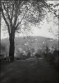 Fayetteville, Ark., view east toward Mt. Sequoyah