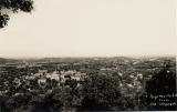 Fayetteville, Ark., from Mount Sequoyah