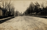 View to the east, Center Street, Fayetteville, Ark.