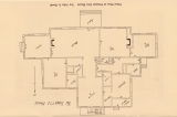 Floor plan for Headquarters House, Fayetteville, Ark.
