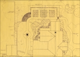 Landscaping plan for Headquarters House, Fayetteville, Ark.