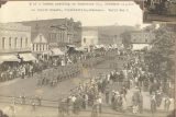 View east - Armistice Day Parade, Fayetteville Square, Fayetteville, Ark.