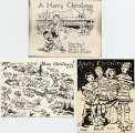 Christmas cards - Robert A. and Helen Finger Leflar