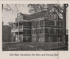 Hill Hall, Dormitory for Men and Dining Hall