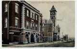 Fayetteville, Ark., Opera House, Court House and Jail
