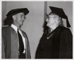 J. William Fulbright and Jobelle Holcombe