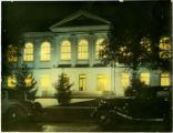 Vol Walker Memorial Library Night View
