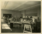 Herb Fowler's class at the Fine Arts Center, University of Arkansas