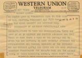James G. Owen, Jr.'s Telegram