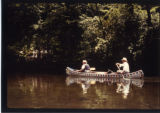 Neil Compton and Laurene Compton in Canoe