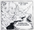 Memorial Cartoon Tribute to Neil Compton by George Fisher
