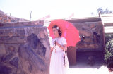 Mrs. Frank Lloyd Wright at Taliesin West Easter Celebration