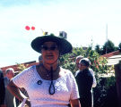Mrs. Harold Price at Taliesin West Easter Celebration