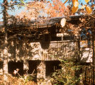 Goetsch-Winckler Residence by Fay Jones, Exterior View West Elevation