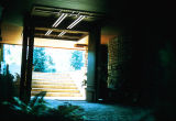 Hall Residence (Pine Knoll) Entry Looking towards Exterior